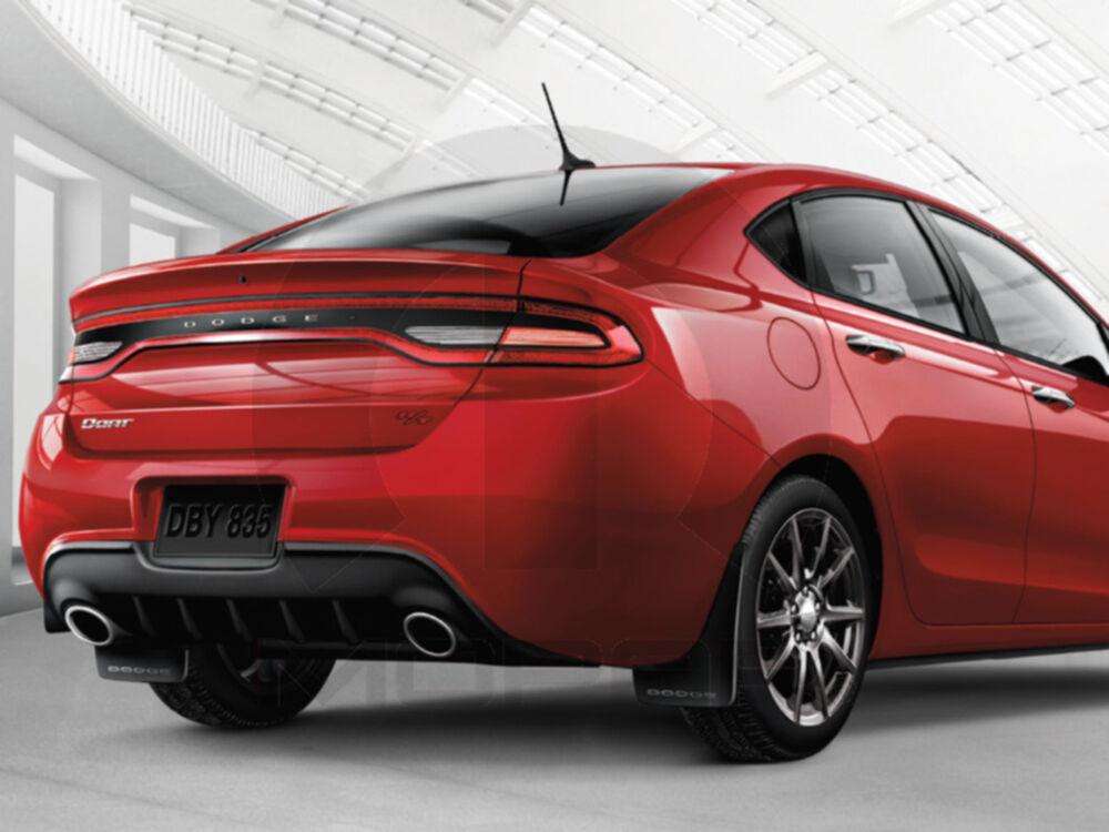2013 2015 dodge dart front and rear molded splash guards. Black Bedroom Furniture Sets. Home Design Ideas
