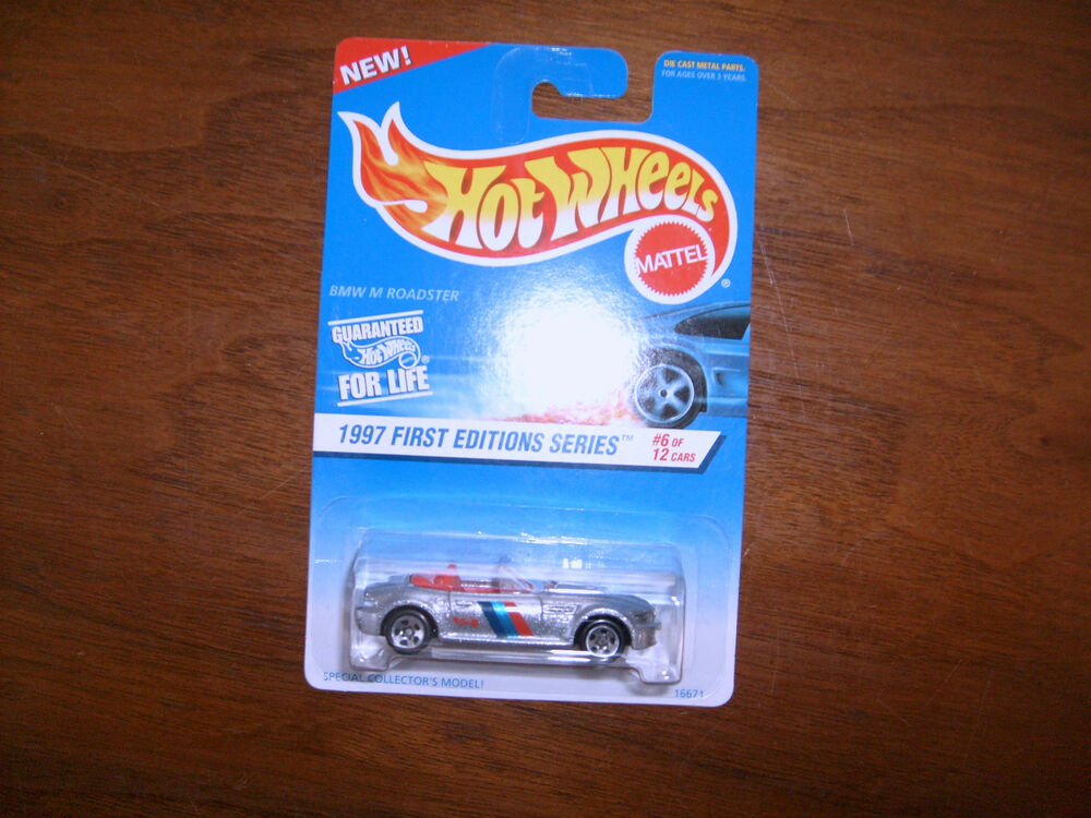 1997 Hot Wheels First Edition 518 Bmw M Roadster With