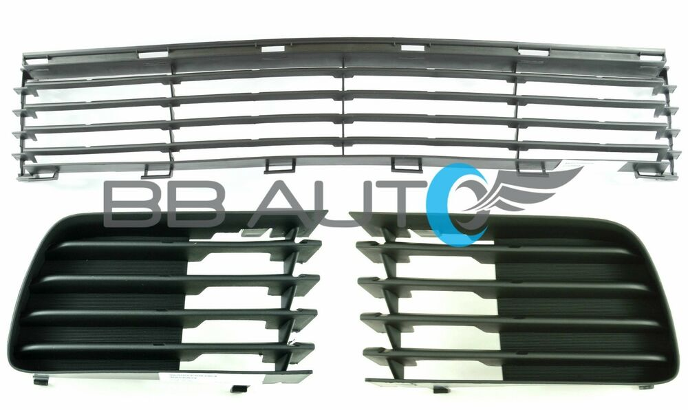 04-09 TOYOTA PRIUS 3 PIECE LOWER FRONT BUMPER GRILLE SET FOG LIGHT COVERS NEW | eBay
