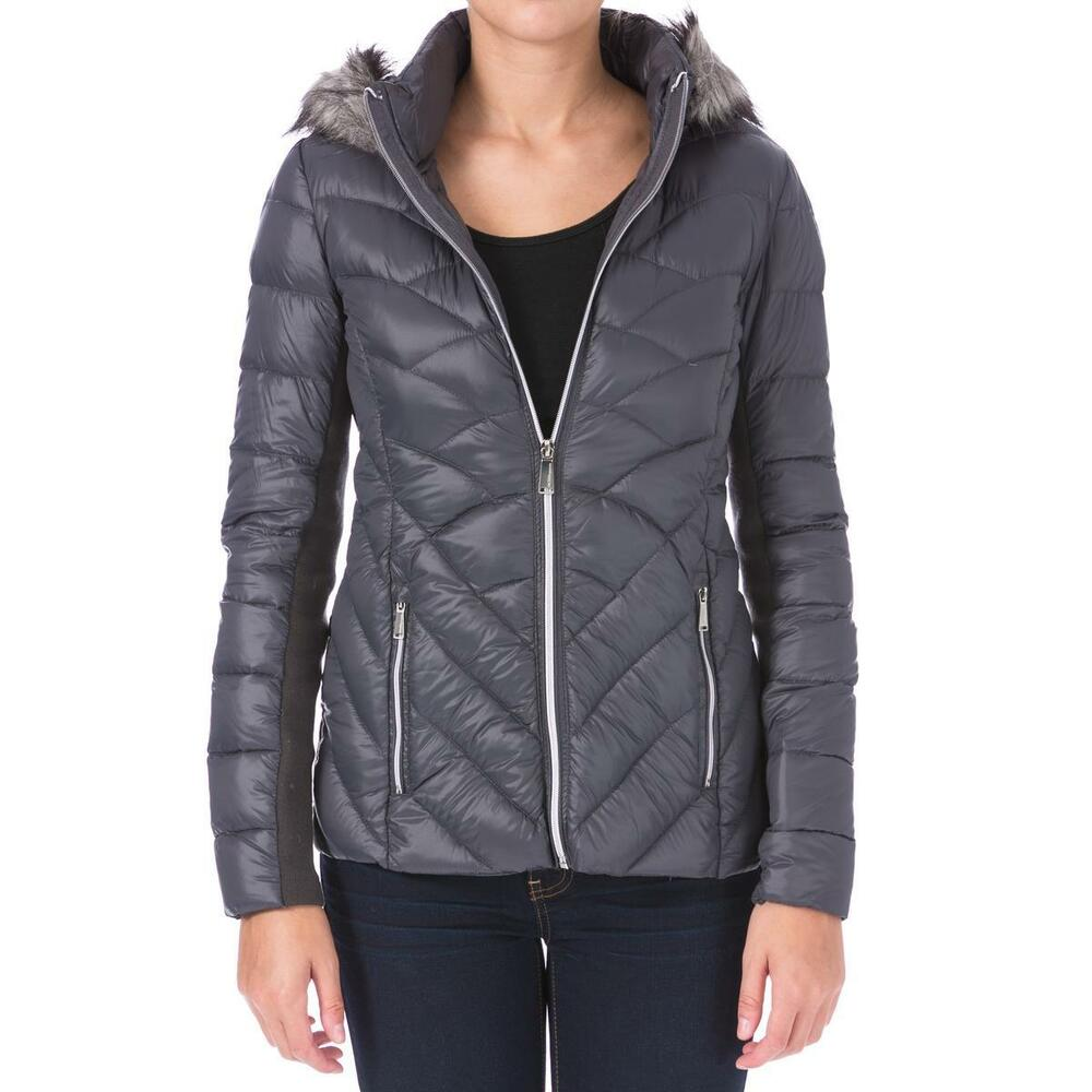 Bcbgeneration 7954 Womens Down Packable Puffer Coat