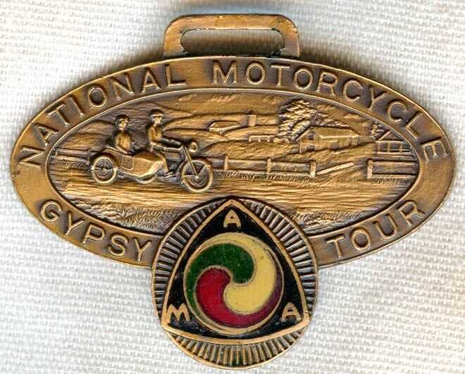 Guardian Bells For Motorcycles Minty and Early 1926 American Motorcycle Association (AMA) Gypsy Tour ...