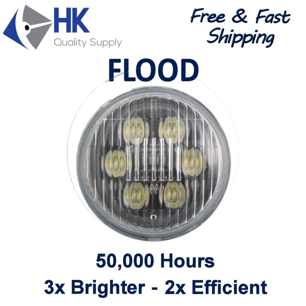 Led Replacement Bulbs For Tractor : Par round led flood bulb for truck tractor work light