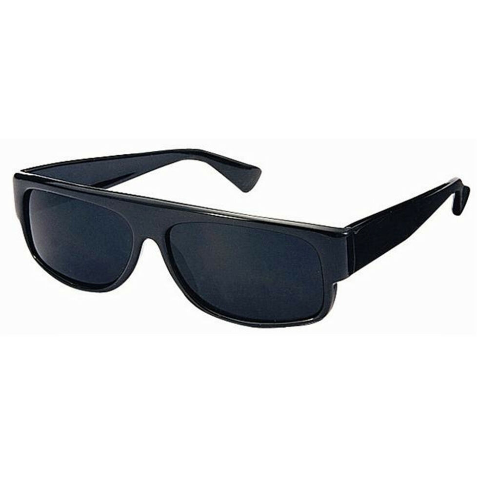 Limited Super Dark Black LOCS Sunglasses New Motorcycle ...