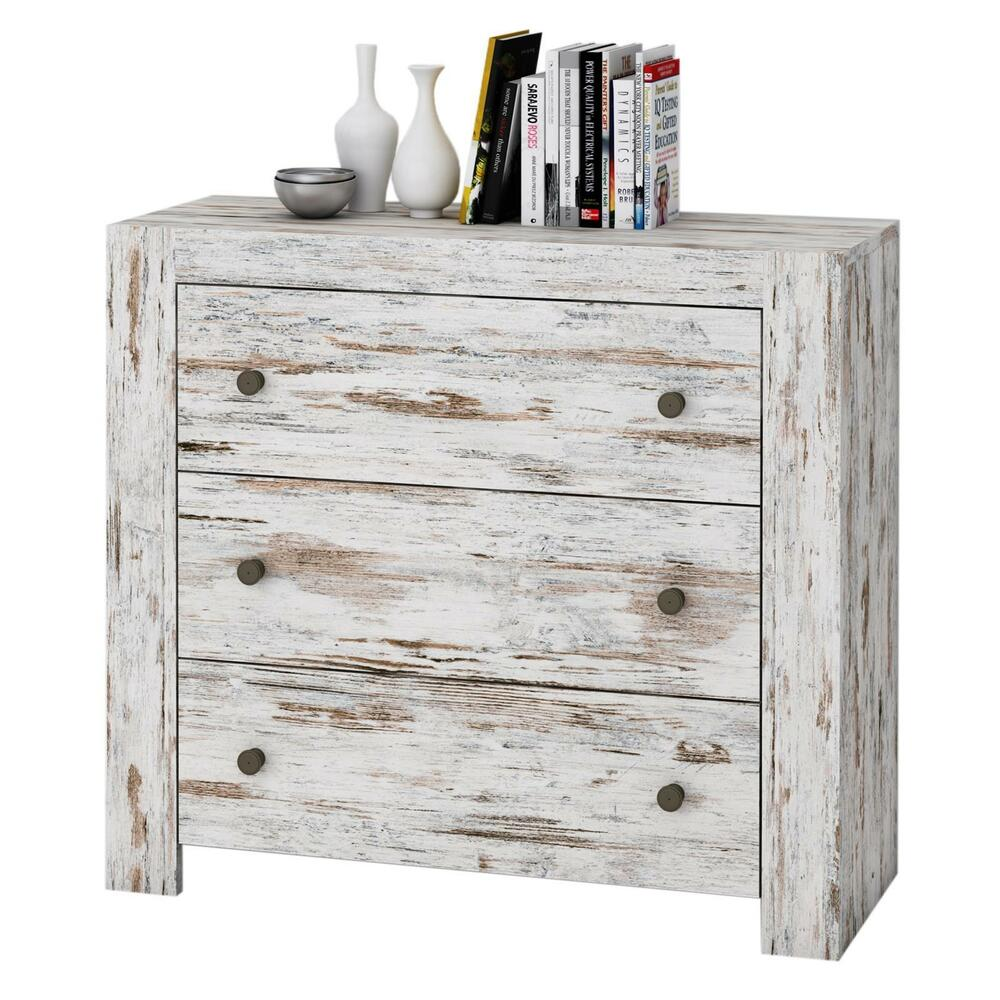 shabby chic vintage kommode 90 cm sideboard schubladen. Black Bedroom Furniture Sets. Home Design Ideas