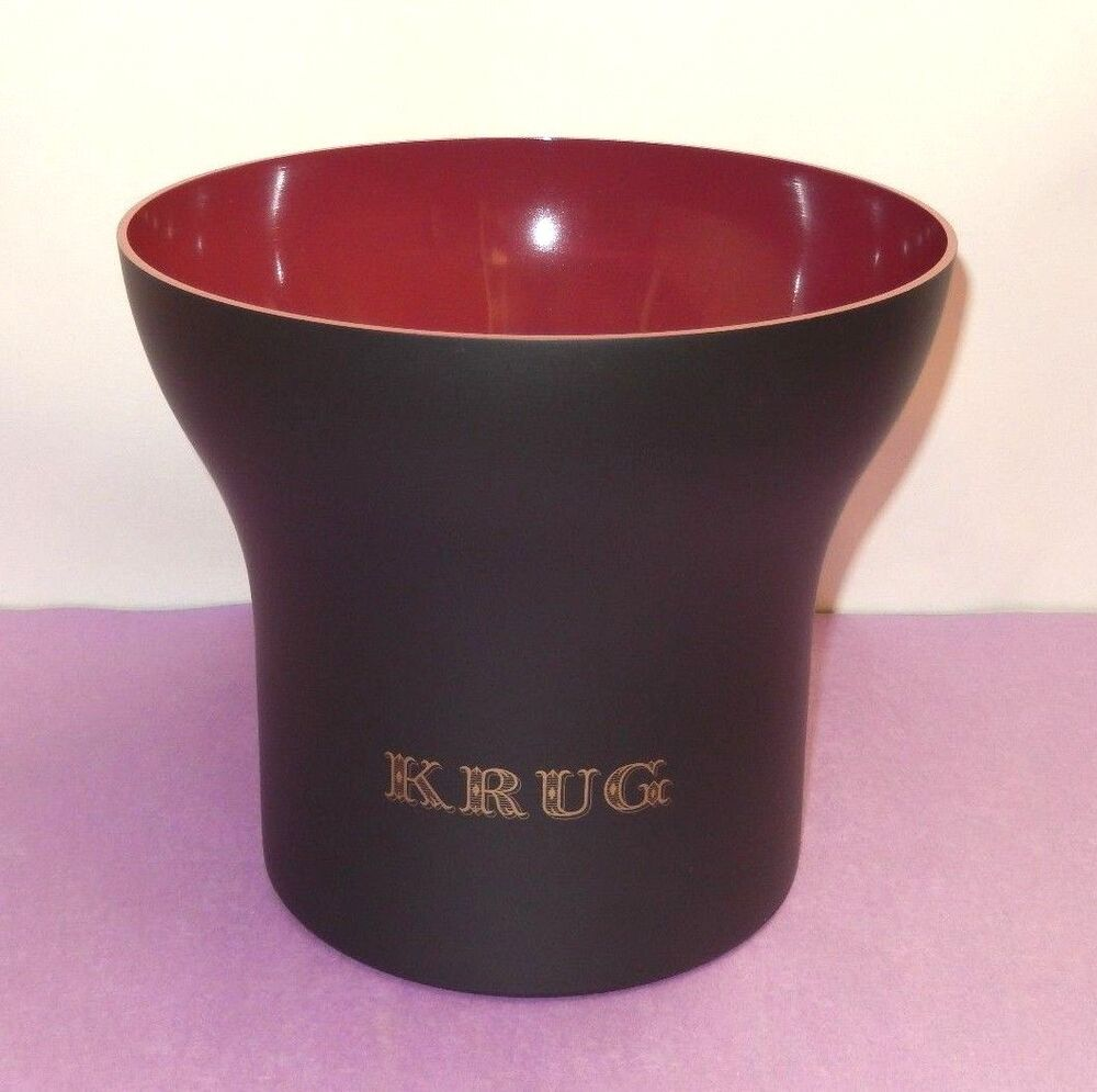 new krug champagne rose vasque champagne ice bucket cooler stainless steel ebay. Black Bedroom Furniture Sets. Home Design Ideas
