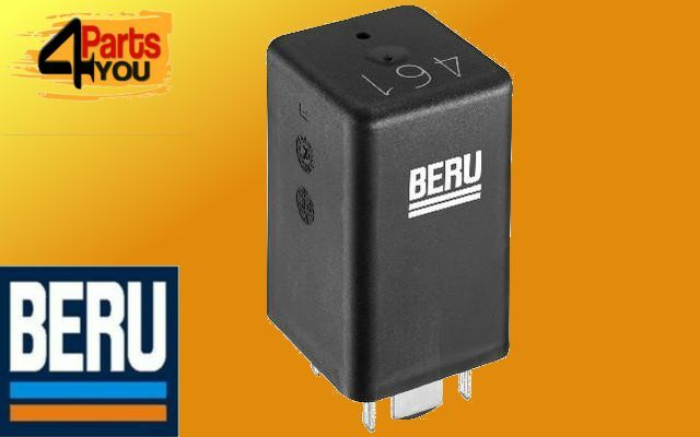 beru glow plug relay control unit module vw touran jetta. Black Bedroom Furniture Sets. Home Design Ideas