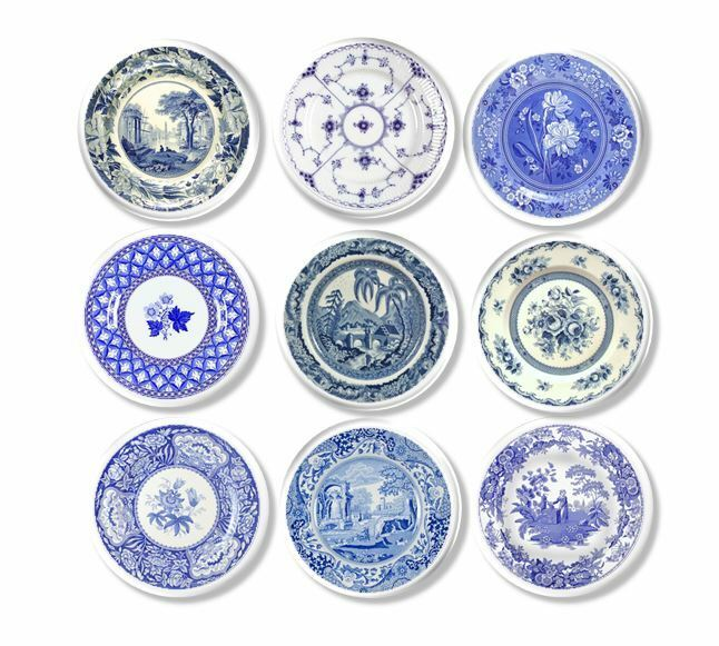 Country Kitchen Cabinet Knobs: Shabby Country Cottage Kitchen Cabinet Knob Vintage Blue