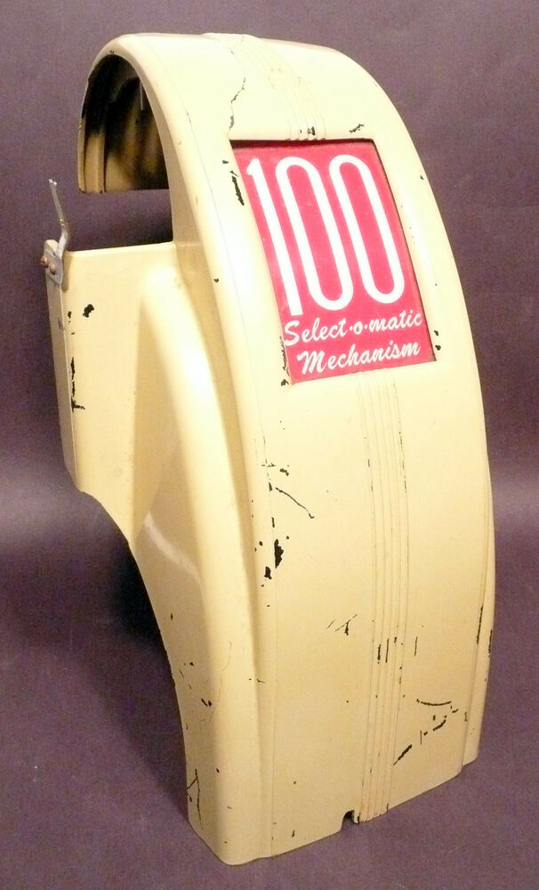 Seeburg select o matic m100a repaired mechanism cover ebay for Mirror 0 matic