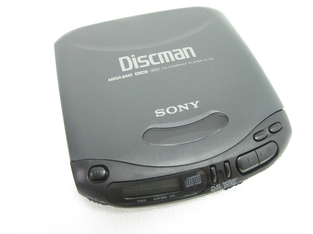 Sony Walkman Discman Portable Battery Operated CD Player D ...