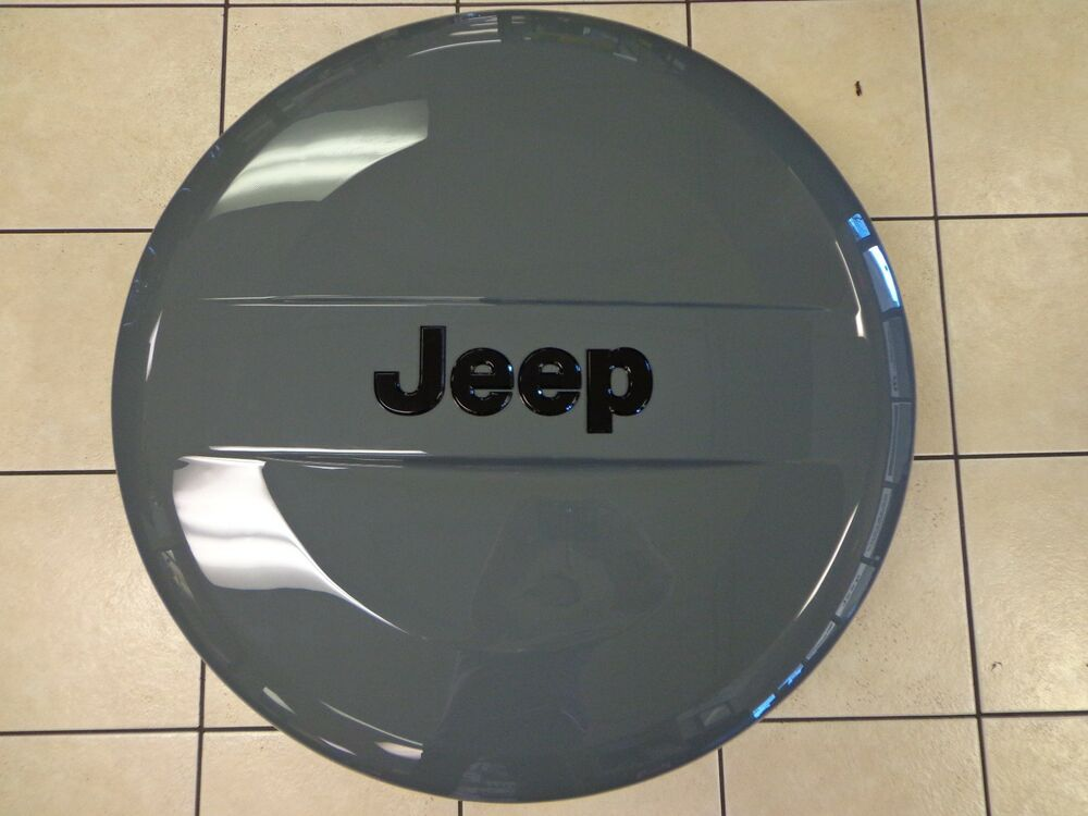 14-15 Jeep Wrangler New Spare Tire Cover Hard Shell Diesel