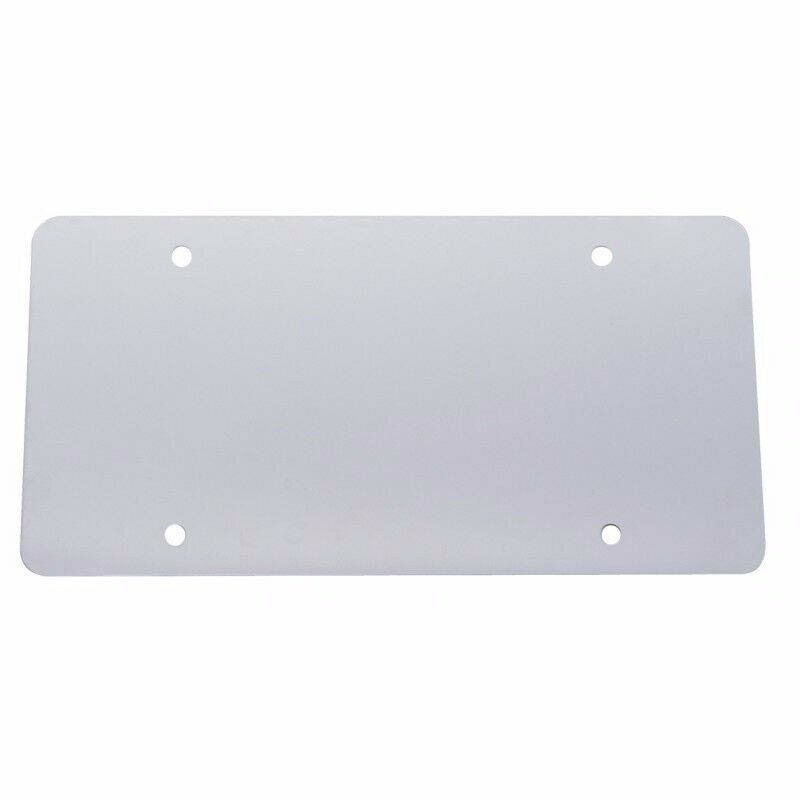 Stainless Steel License Plate Backer Blank NEW SMOOTH   eBay