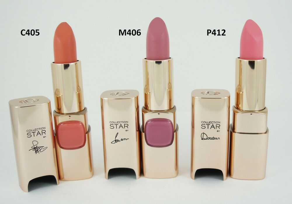 L'OREAL COLOR RICHE COLLECTION STAR NUDES LIPSTICK - CHOOSE SHADE ...