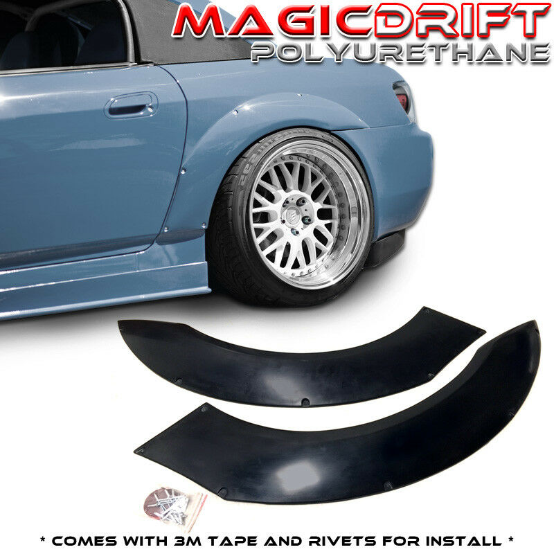 Newlife Poly Quarter Fenders : For honda s as rear overfenders fender flares