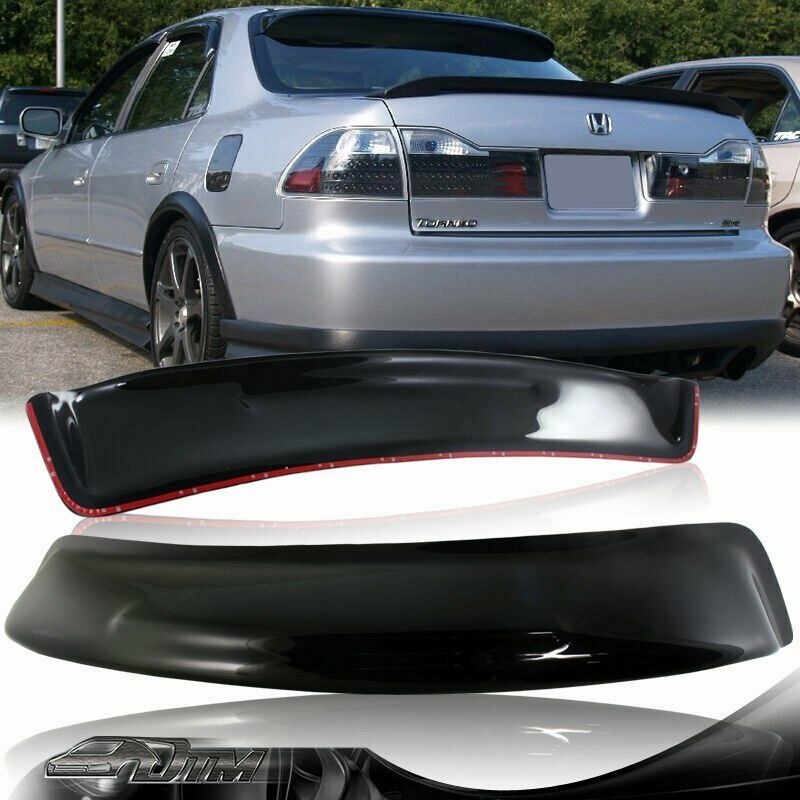 Black acrylic rear roof window visor spoiler for 1998 2002 for 2000 honda civic rear window visor