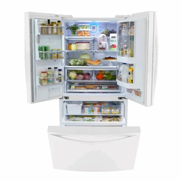 Sears Elite 29ft White Refrigerator With Ice Maker