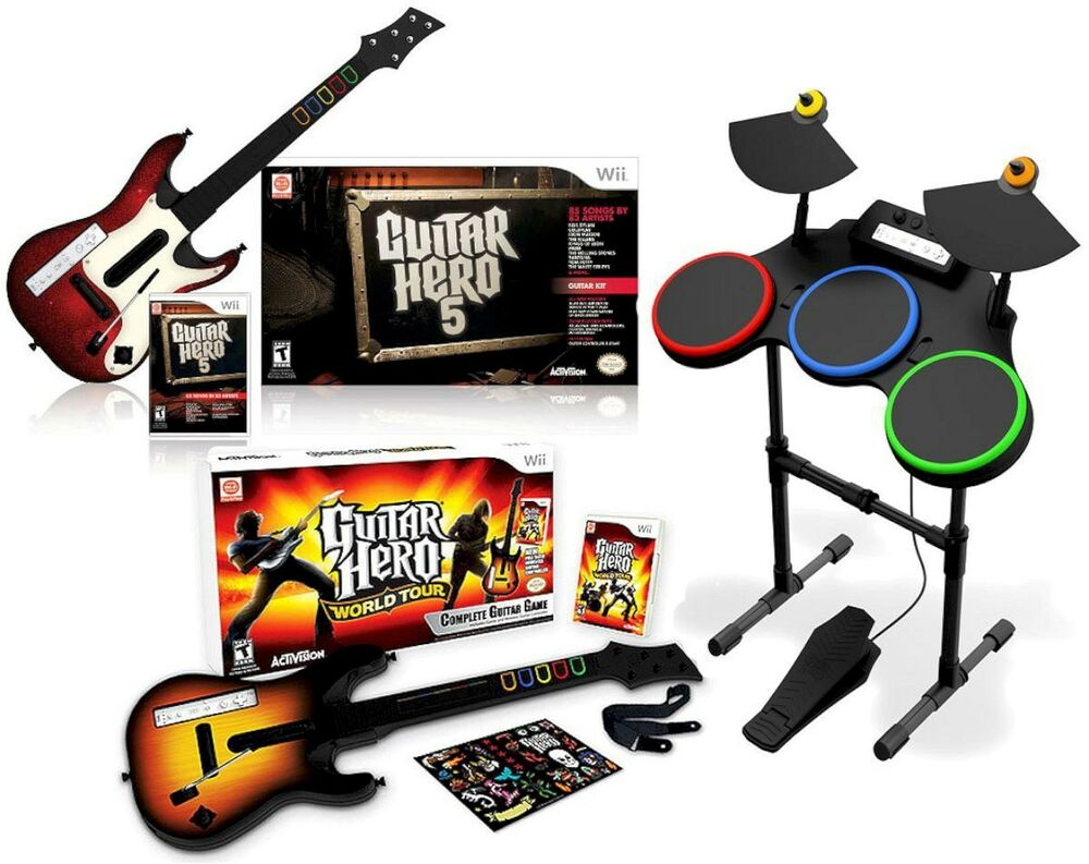 Guitar Hero World Tour Ebay Wii
