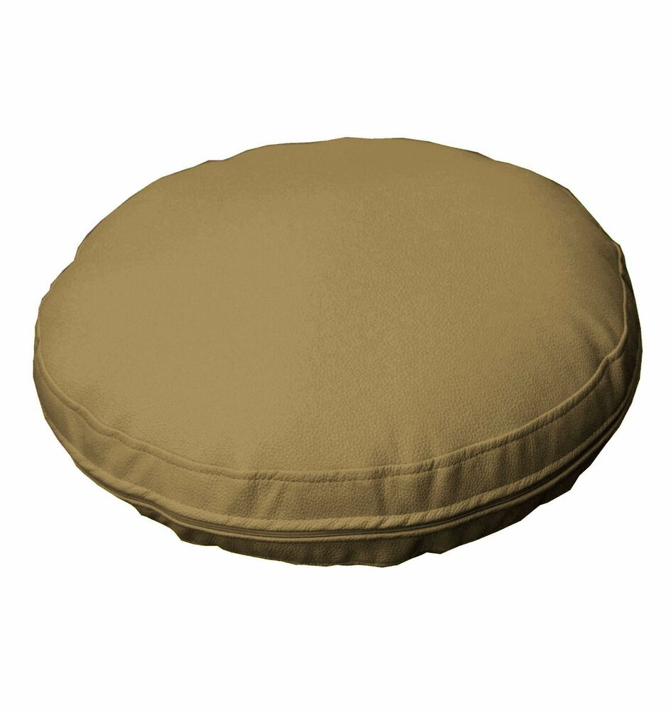 Pb324r Light Bronze Faux Leather Soft 3d Round Thick