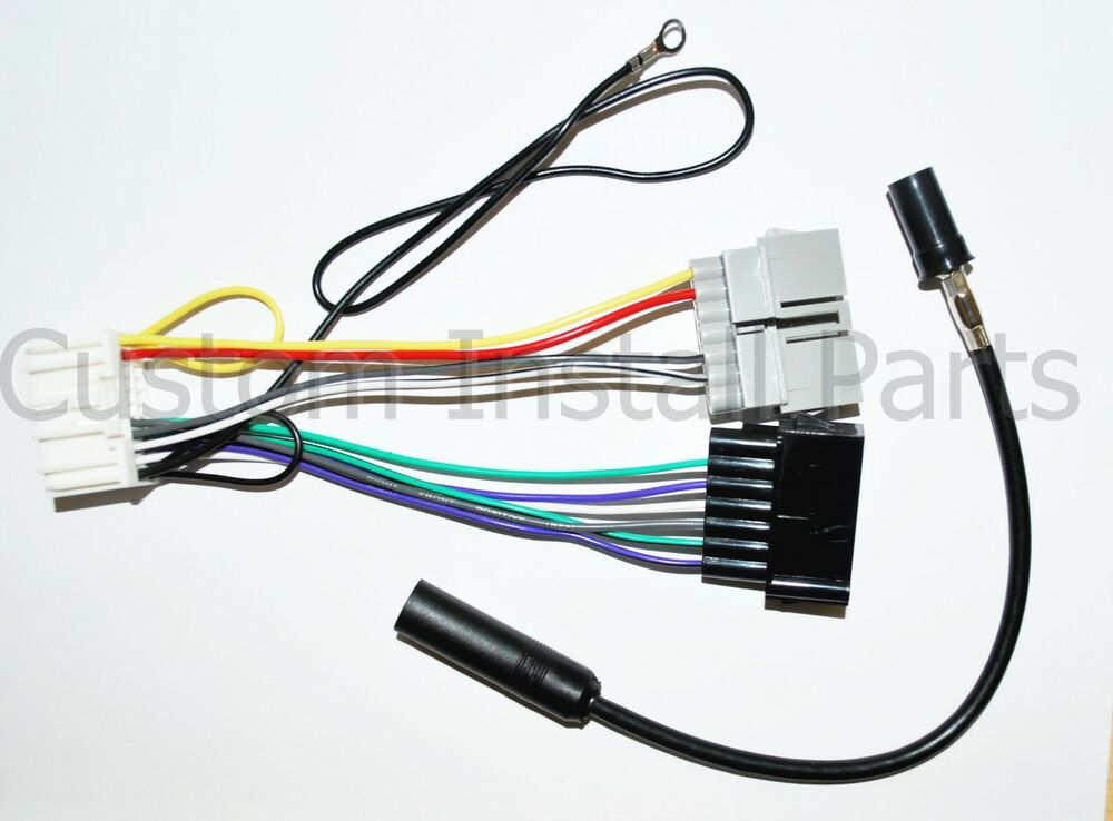 to new style factory radio stereo install wire harness adapter 82207541 ebay