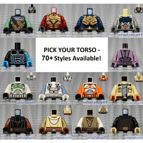 LEGO - Torsos SPACE - PICK YOUR STYLE Star Wars Classic Alien Agents Minifigure