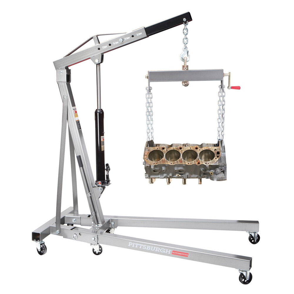 1 Ton Engine Motor Hoist Cherry Picker Shop Crane Lift