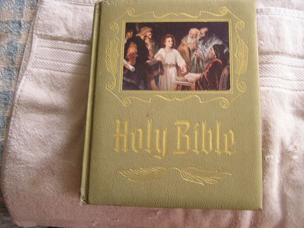 holy bible master reference edition 1964 heirloom bible