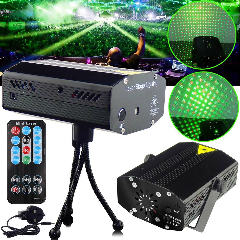 Led Stage Lighting Mini R Amp G Laser Projector Disco Party