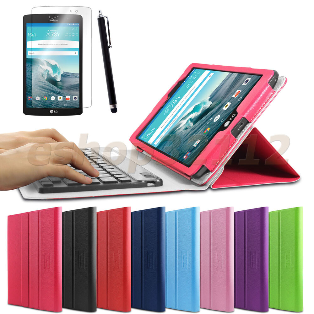 SmartBook Keyboard Case Cover For LG G Pad X8.3 VK815 LTE ...