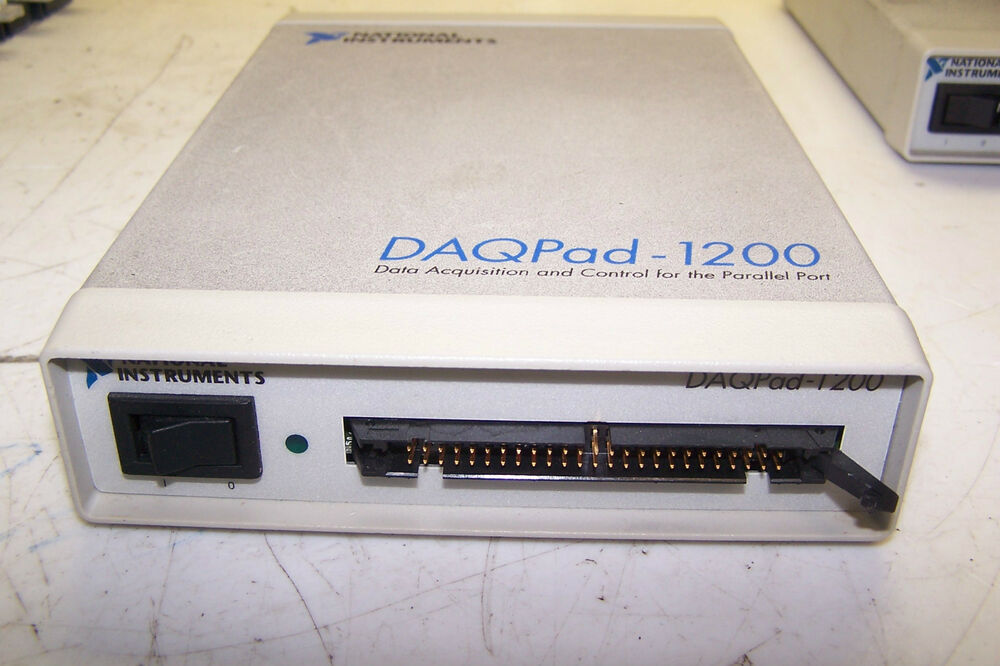 Instruments Data Acquisition : National instruments daqpad data acquisition and