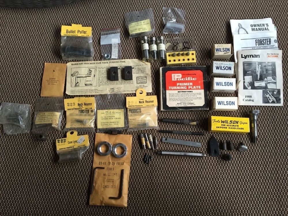 Forster co-ax single stage press kit