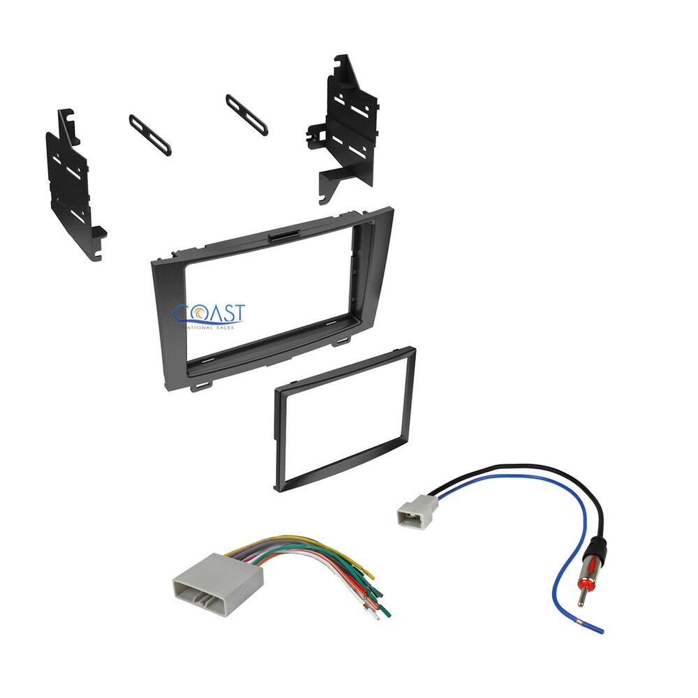 double din car stereo dash kit harness antenna for 2007. Black Bedroom Furniture Sets. Home Design Ideas