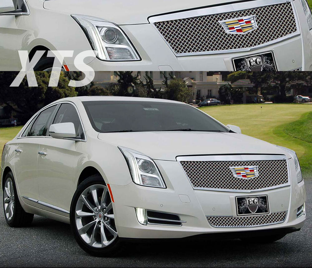 2016 CADILLAC CADY XTS 2PC CLASSIC HEAVY MESH GRILLE GRILL