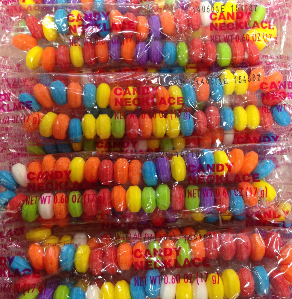 Bulk Candy Necklaces Perfect For Wedding Birthday Party Candy Table Favors 50pcs