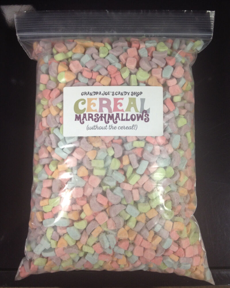 Cereal Marshmallows Without The Cereal (1.25lb Bag) FREE