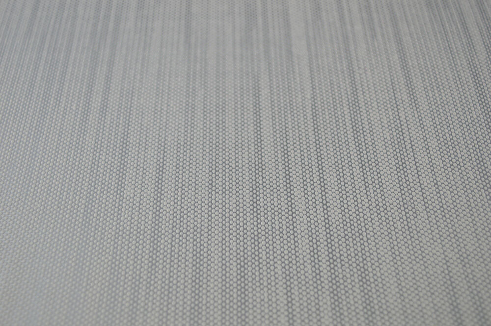 Debona solid textured vinyl grey silver beads retro for Gray vinyl wallpaper