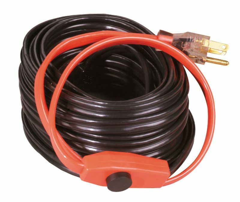 Cable Protection From Heat : New easy heat tape ahb electric pipe heating