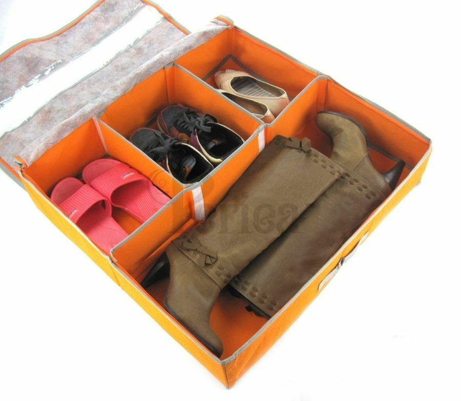 Periea Underbed Shoe Storage Organiser Strong Shoe Box