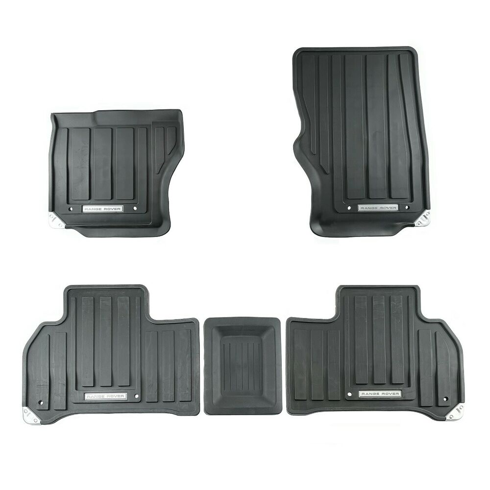 2014-2016 Range Rover Sport LHD All Weather Rubber Floor