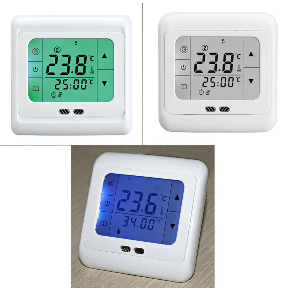 digital program raumtemperaturregler raumthermostat. Black Bedroom Furniture Sets. Home Design Ideas