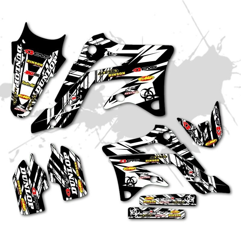 2009 2010 2011 2012 honda crf 450r graphics kit crf450r 450 r deco decals moto ebay