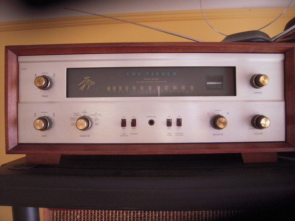 Fisher 400 xlnt Condition receiver stereo fm vintage hifi | eBay