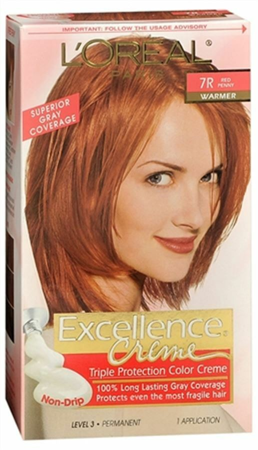 L Oreal Excellence Creme 7r Red Penny 1 Each Ebay
