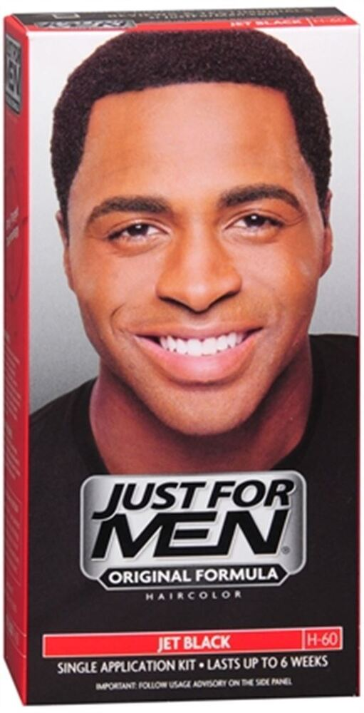JUST FOR MEN Hair Color 60 Jet Black 1 Each (Pack Of 8)