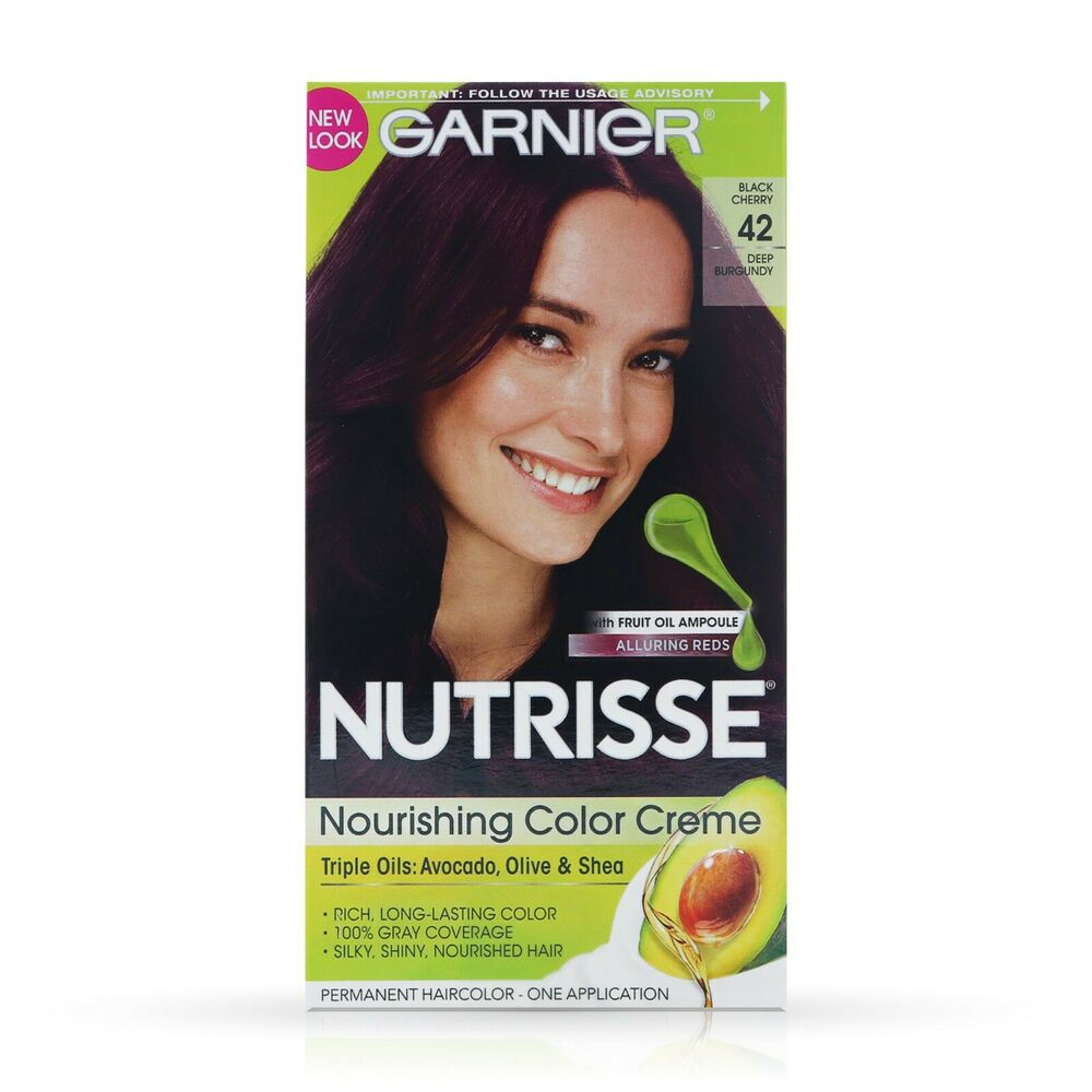 Garnier Nutrisse Haircolor 42 Black Cherry Deep