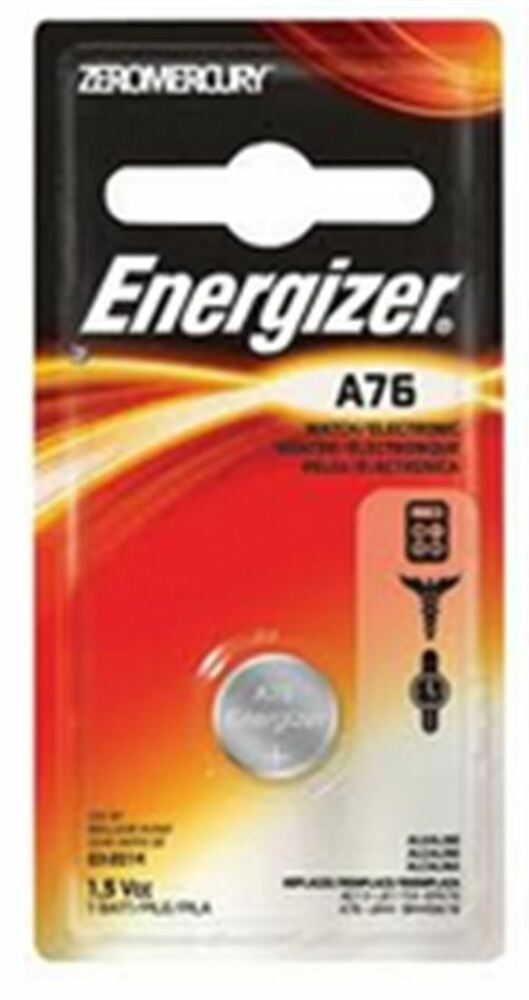 energizer watch battery 1 5 volt a76 1 each pack of 4 ebay. Black Bedroom Furniture Sets. Home Design Ideas