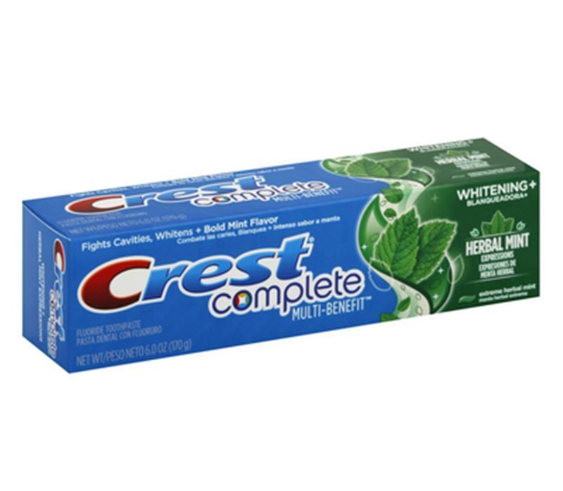 crest whitening expressions toothpaste extreme herbal mint 6 oz pack of 6 ebay