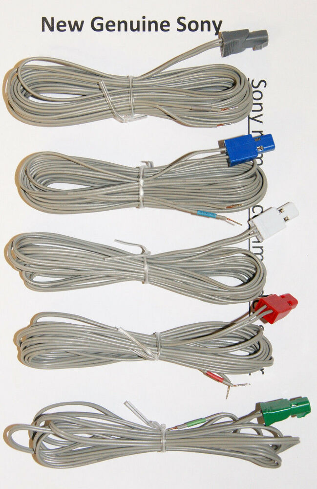 Sony Speaker Wire : Speaker wire cord cable for sony dav dz hcd