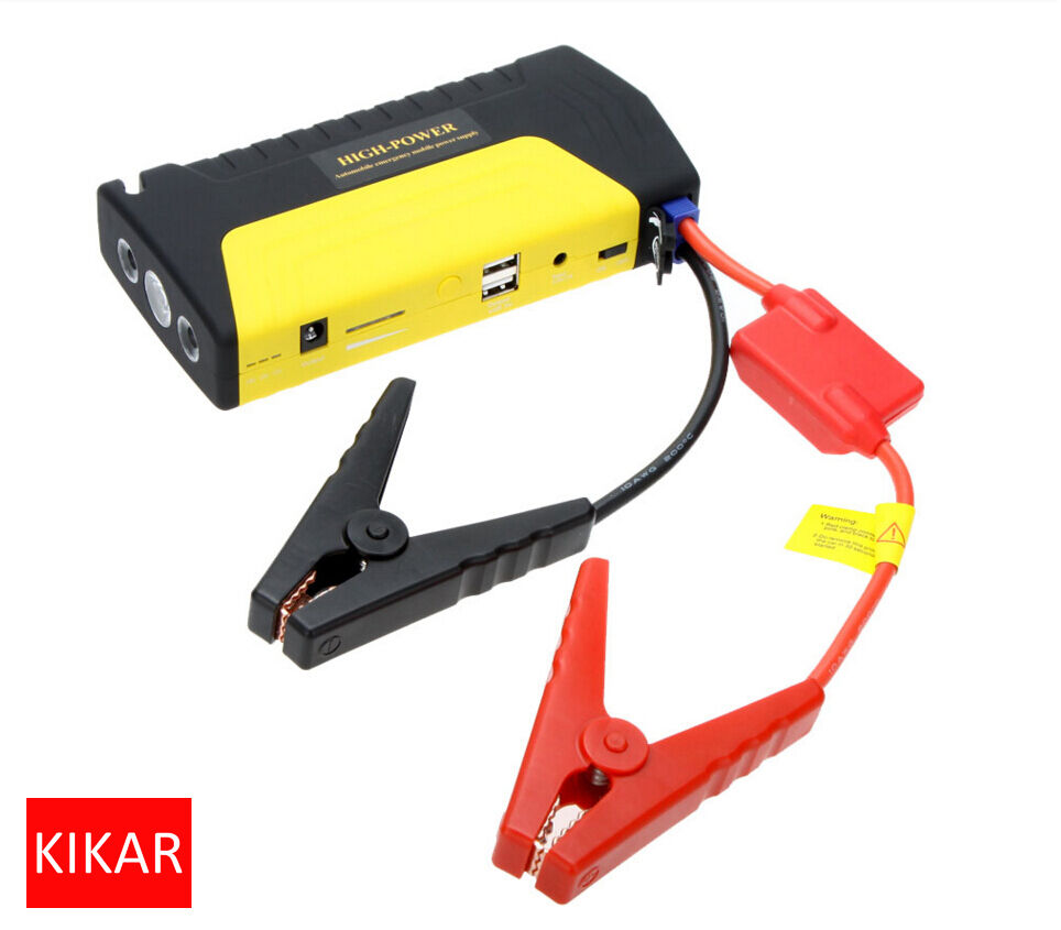 12 volt car recovery battery boost cable clamp rechargeable usb tablet charger ebay. Black Bedroom Furniture Sets. Home Design Ideas