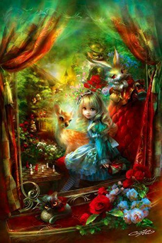 1000 Images About Tarot Art: APPLEONE Jigsaw Puzzle 1000-770 Alice In Wonderland (1000