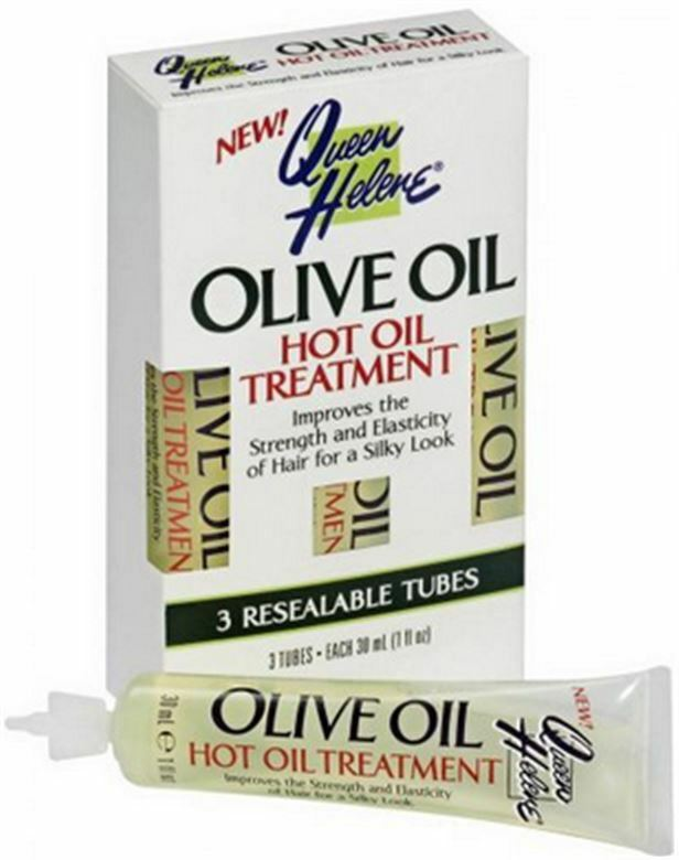 Olive oil hot oil treatment