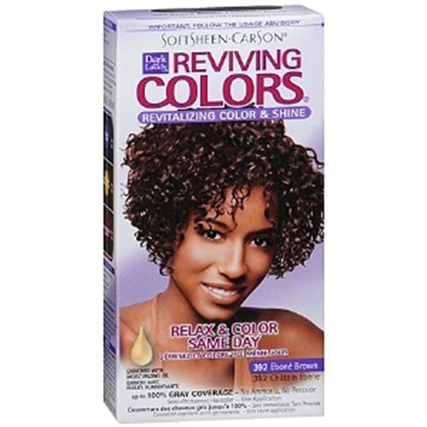Reviving Colors On Natural Hair